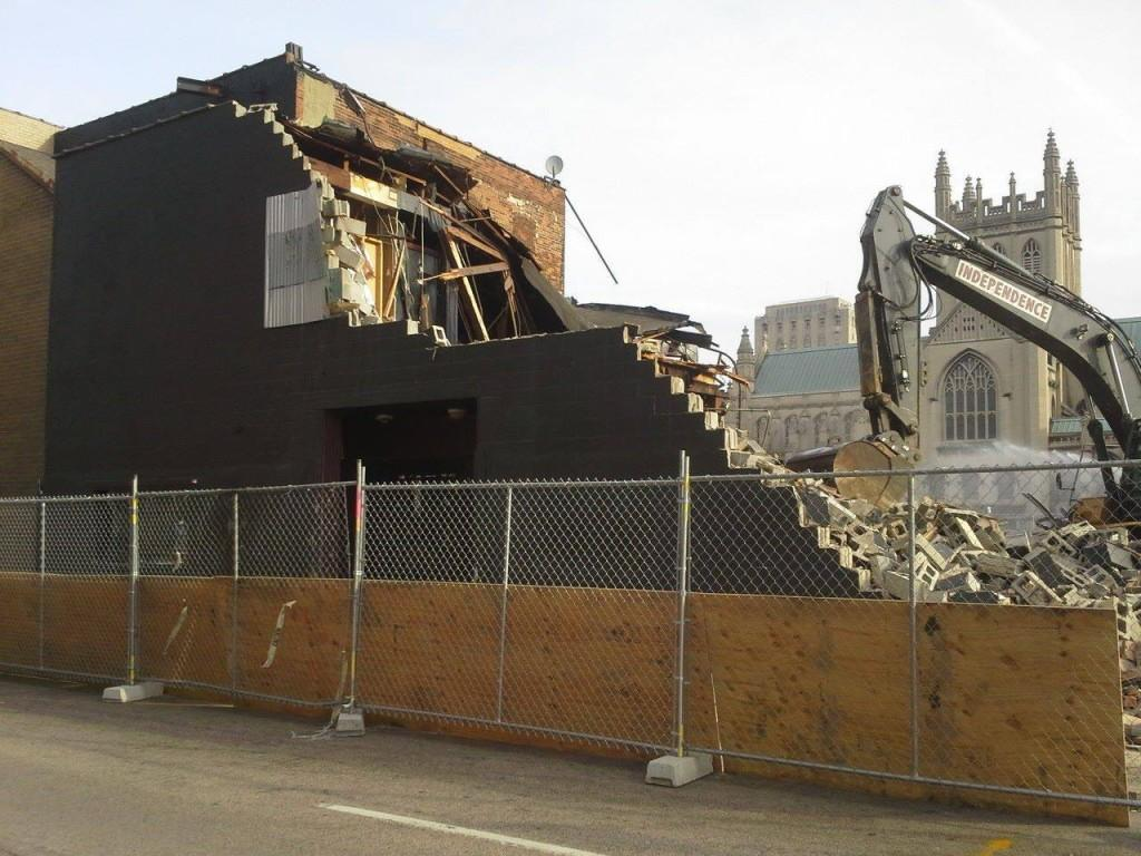 Peabody's Concert Club was demolished in October by Cleveland State University to make room for a new health sciences facility. The concert club is currently partnering with the Agora Theatre to remain open.