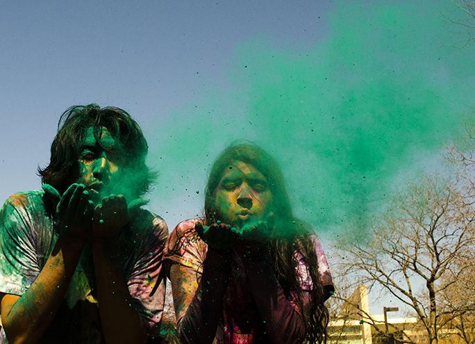 Last+Saturday%2C+CWRU+students+participated+in+Holi+celebrations.