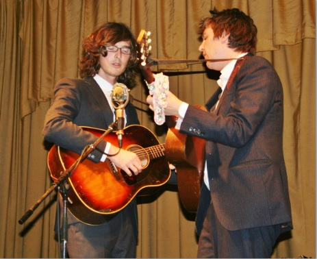 Milk Carton Kids performed to a sold-out crowd at Beachland Ballroom on May 5.