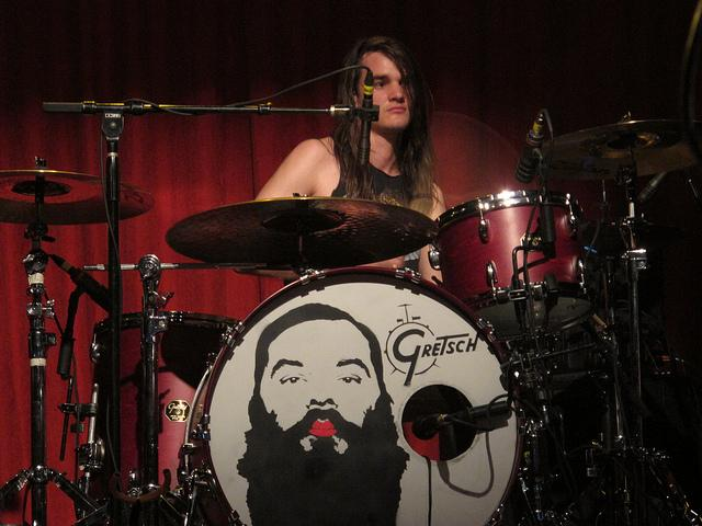 The Maine's drummer Pat Kirch.