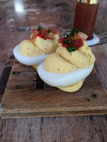 Hodge's deviled eggs are as good as grandma's recipe.