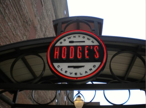 Hodge's, located in downtown Cleveland.