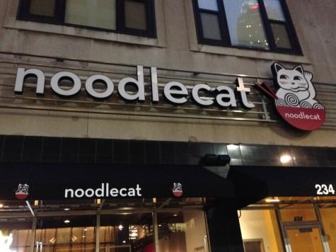 Noodlecat Restaurant in Downtown Cleveland