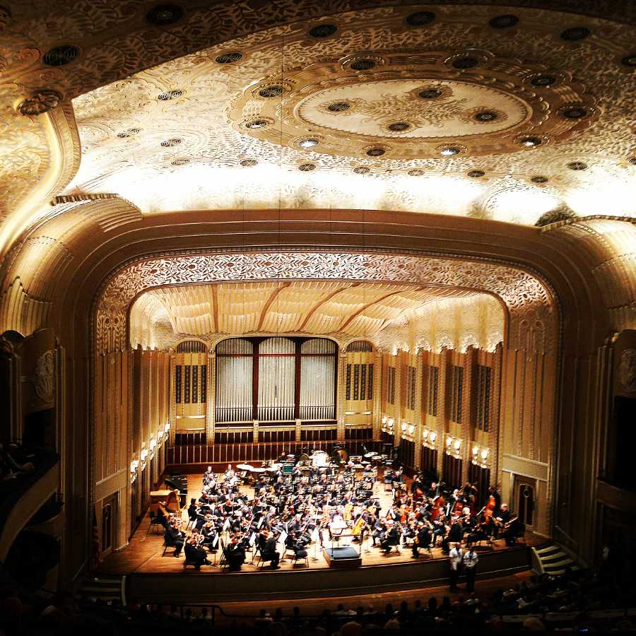 Severance Hall's performance was the perfect precursor to a school year filled with music. Mike Suglio/Observer