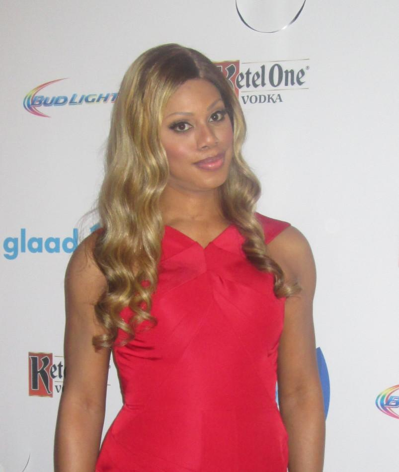 Laverne Cox is a transgender actress starred on