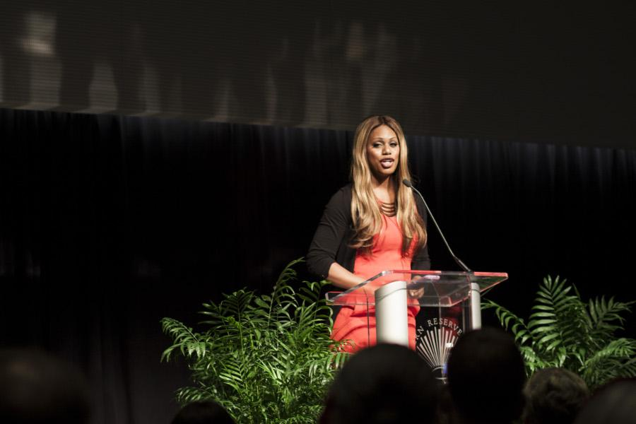 Transgender+actress+Laverne+Cox+visited+campus+last+week+and+spoke+to+a+sold-out+crowd.