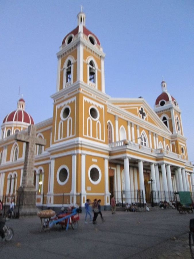 Participants also visited Grenada, a large city in Nicaragua, where they got to shop and see the sights.