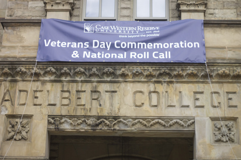 CWRU hosts Veteran's Day event