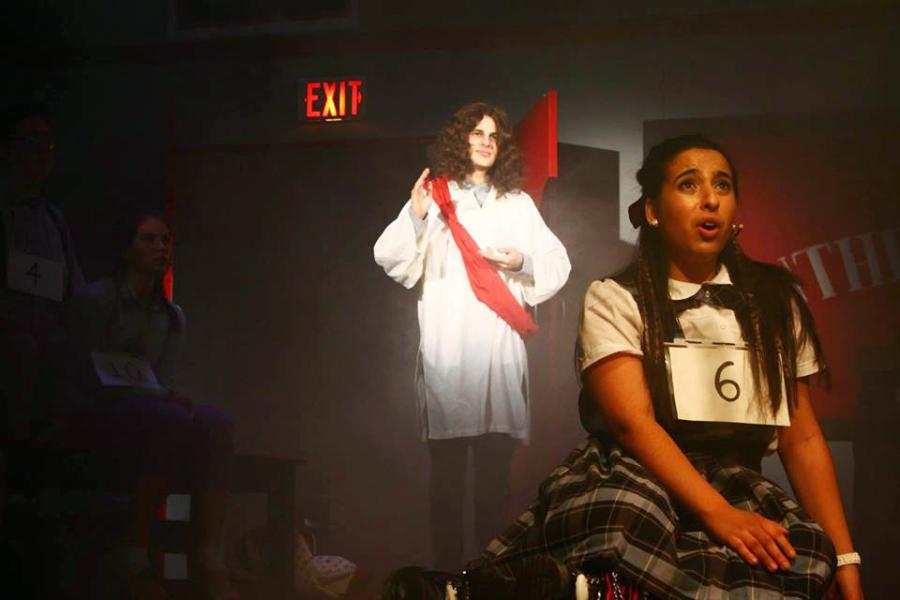 "Nerds become stars in Eldred's latest play ""The 25th Annual Putnam County Spelling Bee."""