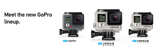 GoPro new Hero line
