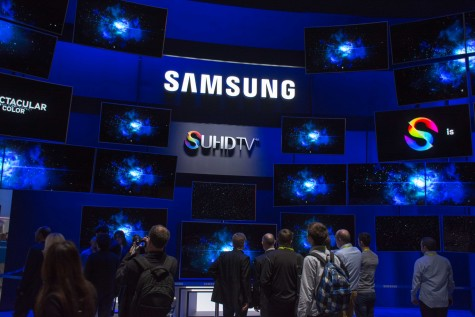Some of the latest trends shown at the show included wearable technologies and innovations for cars and televisions.