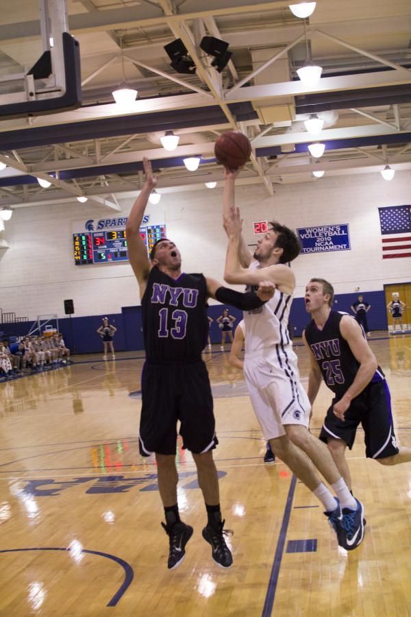 Men's Basketball 1-18 Harsha 09