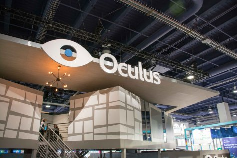 Oculus VR's latest prototype was on display at CES 2015