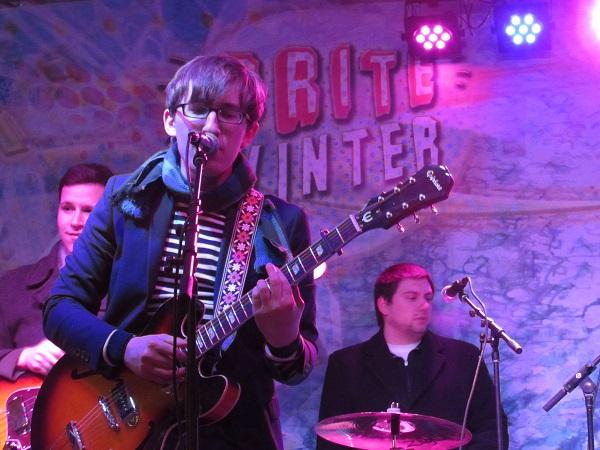 Brite Winter captured a series of local musicians who braved Cleveland's cold for a night of performances.