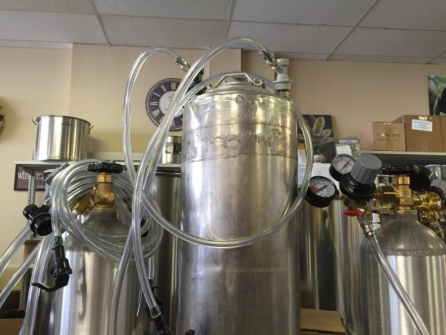 Brew Mentor brings visitors into the beer-making process, among other beverage-making activities.