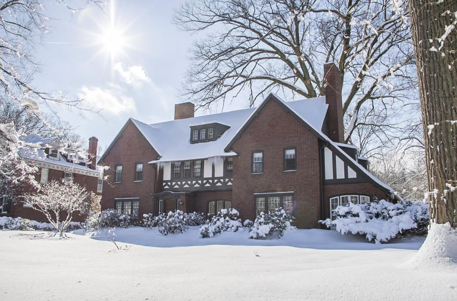 In July, CWRU purchased the above house from its former law school dean.