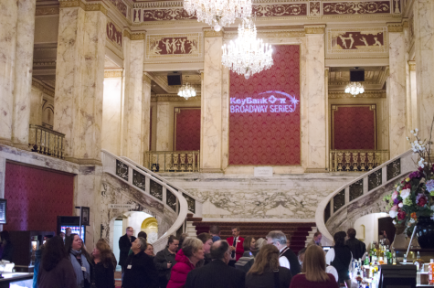 Playhouse Square's Broadway series announcement came with a party in downtown Cleveland.