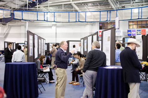 Over 400 campus projects presented at Research ShowCASE