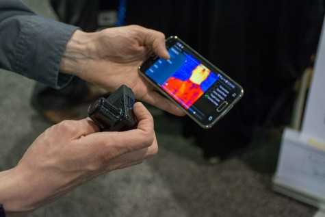 The HemaVision, an affordable thermal imager, is currently in the midst of a Kickstarter campaign.