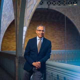 Claude Steele is an author, social psychologist and executive vice chancellor and provost at the University of California, Berkeley. His book about combatting stereotypes is the common reading book for the fall of 2015.