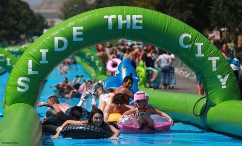 Opinions columnist Sarah Jawhari weighs in on the dangers and poor taste of Slide the City, a national slip 'n slide event.