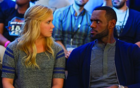 Amy Schumer and LeBron James in