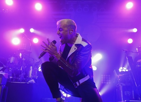 Neon Trees singer Tyler Glenn rocked out on the House of Blues stage last week.