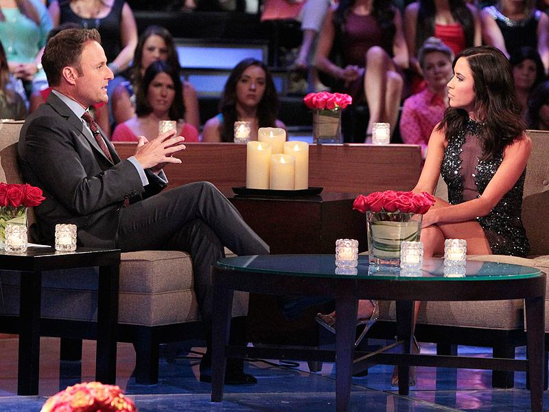 """Bachelorette"" Kaitlyn Bristowe and host Chris Harrison discussed cyberbullying on the show's ""Men Tell All"" segment on 20."