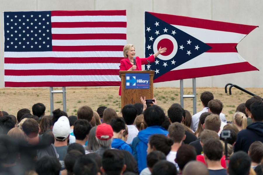 Under a week to plan an event for thousands: the logistics of Hillary Clinton at CWRU