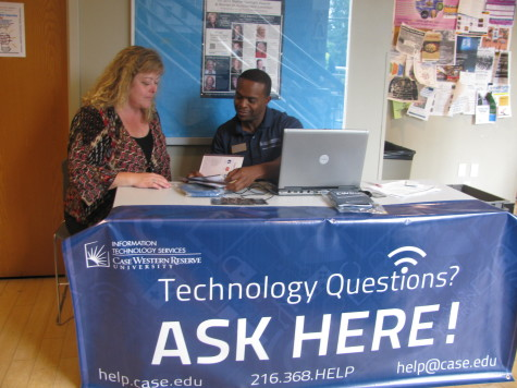 Temporary ITS locations in Nord Hall and Leutner Commons will address students' technology questions as the Fall semester begins.