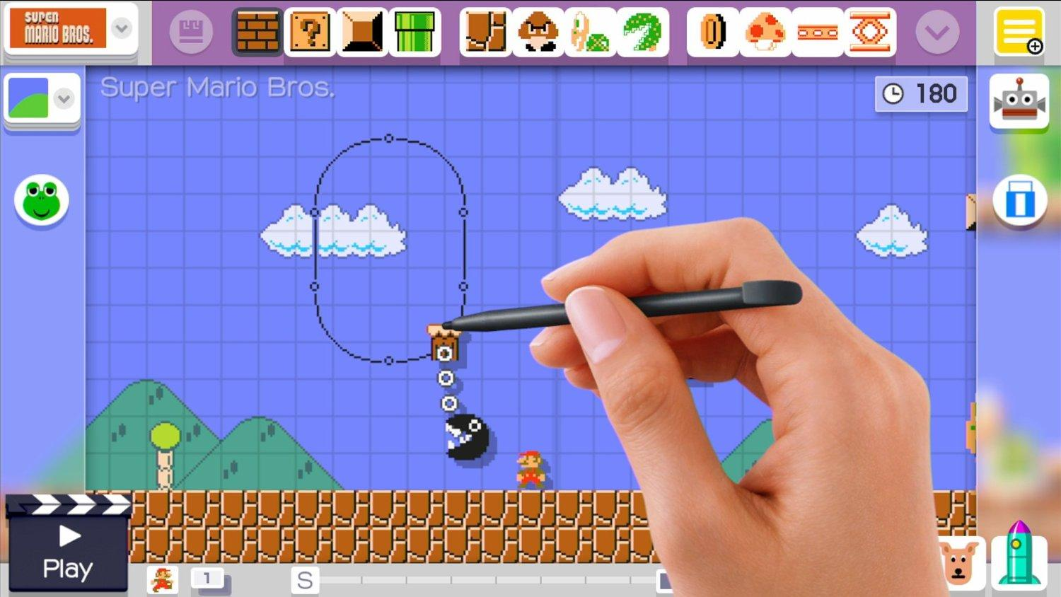 The game gives players a creative look into the Super Mario world.