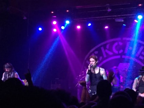 Buckcherry performed at the Agora to an enthusiastic crowd.
