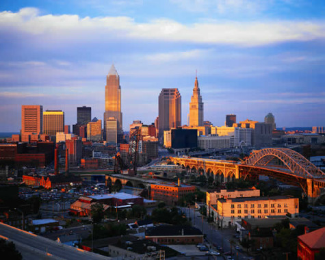 Sunrises over land and sunsets over Lake Erie are visible from Downtown Cleveland. July is coming to an end and the fall semester is only a little over a month away.