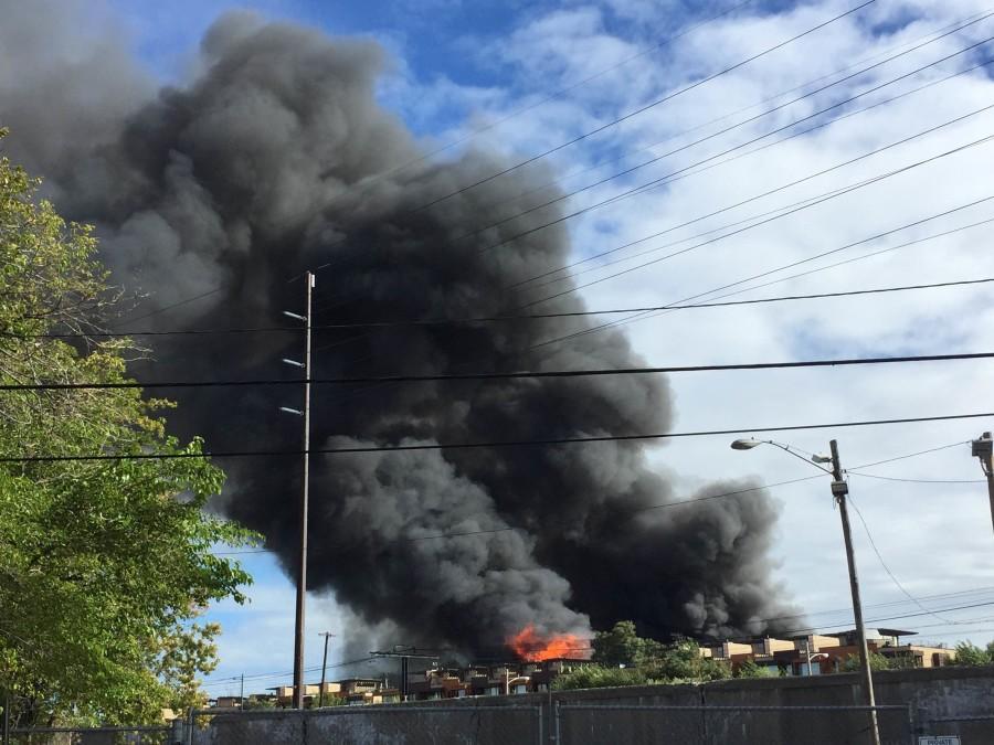 Fire+breaks+out+on+E+123rd+Street