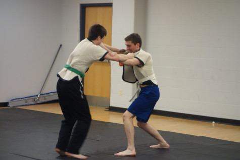 The Case Kung Fu team practices their martial art, training their body, mind, and soul. The team has had great success both internally and internationally for perfecting this balance with both beginners and experts.