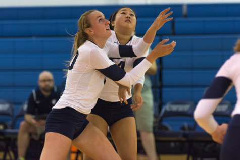 Spartans win three at volleyball UAAs, upset No. 21 Chicago