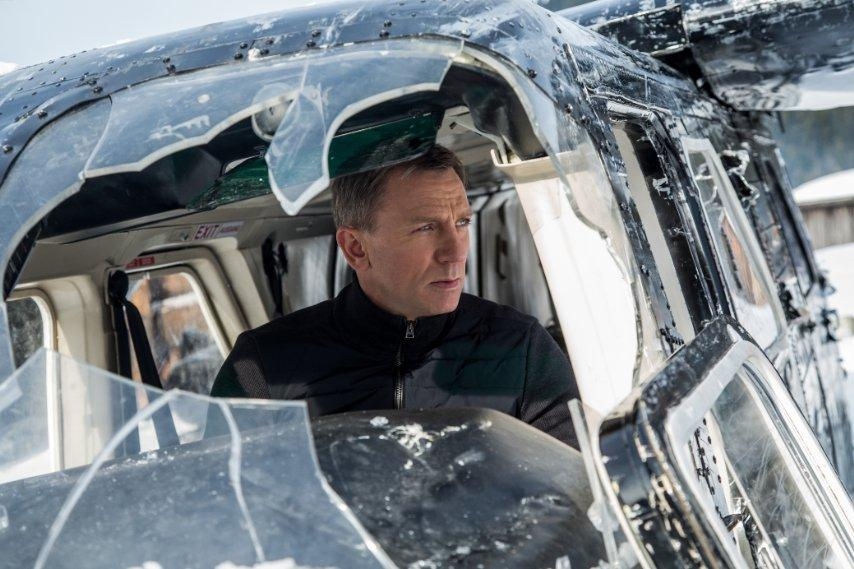 In Spectre, Daniel Craig plays a James Bond more focused on action than in past movies.