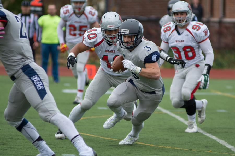 Football finished their season on the road against arch-rival Carnegie Mellon. The Spartans lost the game, falling to 7-3 on the season and will look to build upon their success next year.