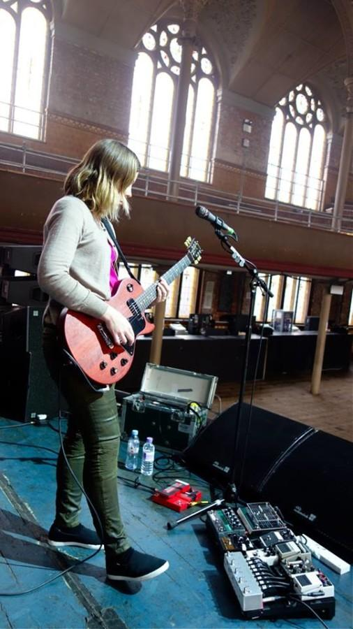 Punk rock band Sleater-Kinney's new album