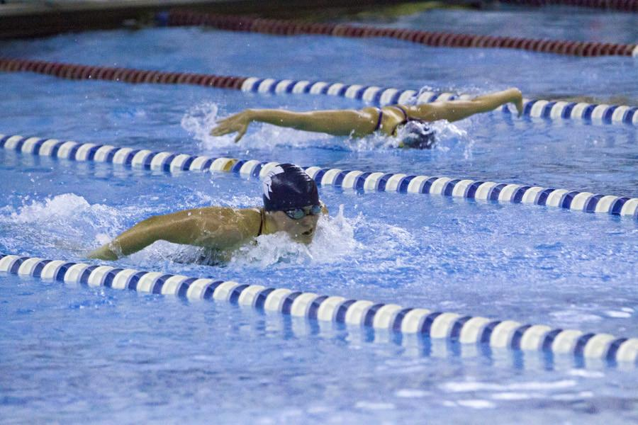 The Spartans returned to the pool with wins for both the men's and women's squads.