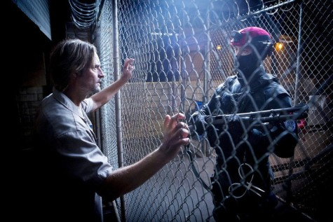 In Colony, Josh Holloway plays a father struggling to keep his family together in a dystopian future.