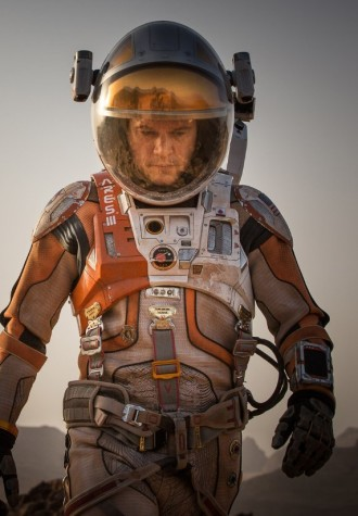 """The Martian"" took home a few awards, including the Best Picture Musical or Comedy award."