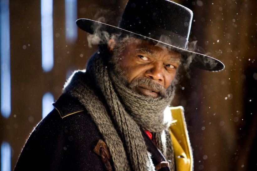 Samuel+L.+Jackson%27s+character+in+%22The+Hateful+Eight%22+made+the+film%27s+lengthy+run-time+worth+it.
