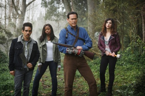 "Finale of ""Ash vs. Evil Dead"" succeeds with comedic gore"