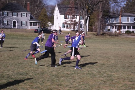 CWRUcio, the Quidditch team on campus took third in their tournament this weekend