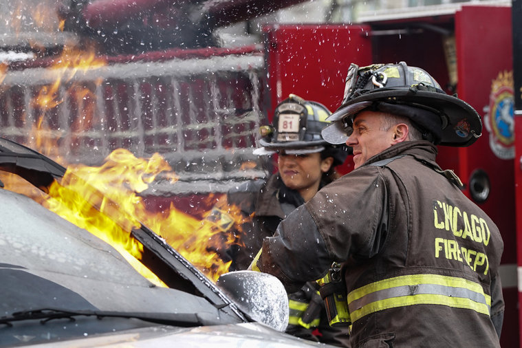 "The political front is heating up on ""Chicago Fire"" in 'Two T's'"