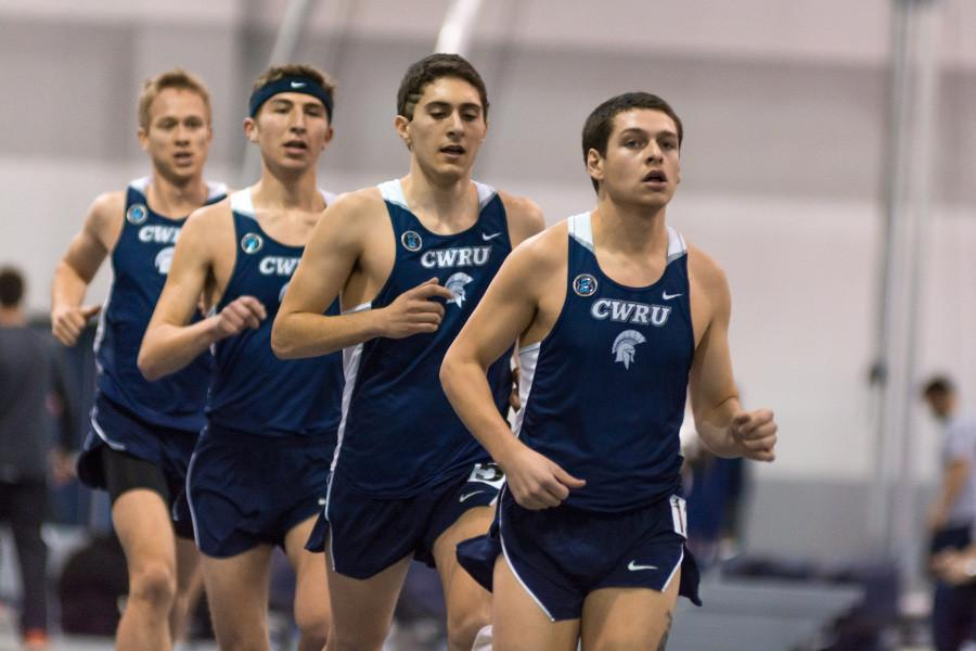 The Spartans continue to break records as they prepare for the UAA Indoor Championship