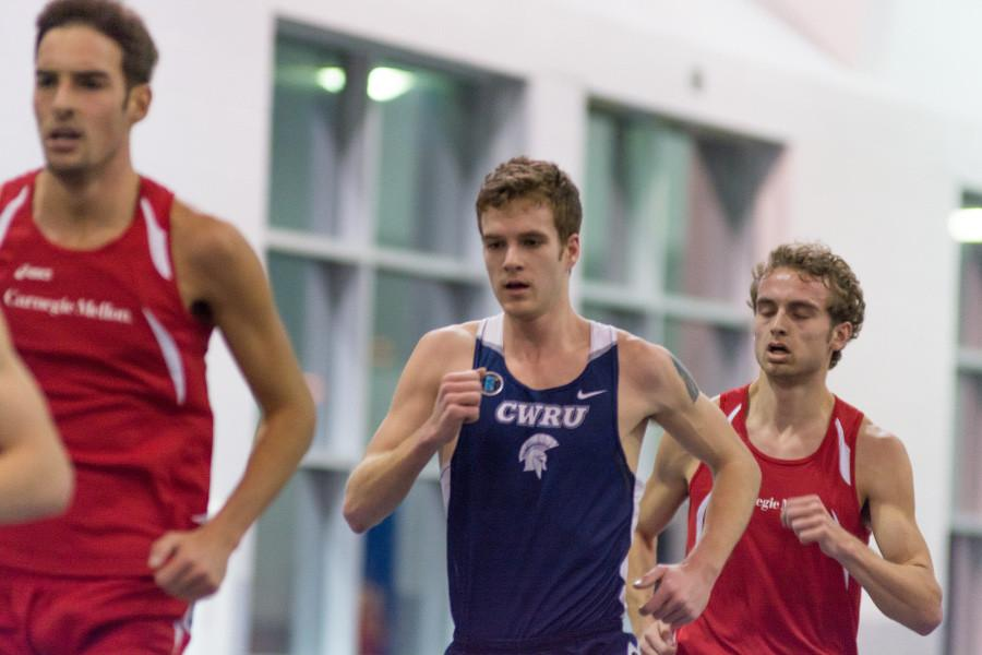 Spartans broke four records this weekend at the All-Ohio meet and are working toward UAA Indoor Championship in two weeks.