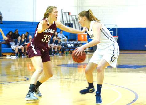 Women's basketball beats #7 NYU to cap throwback weekend