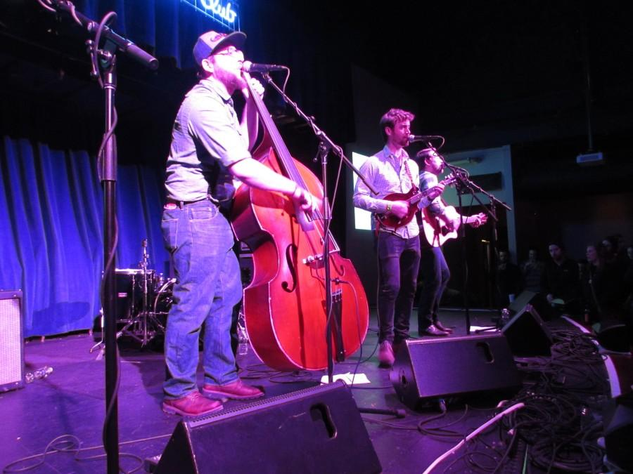 Honeybucket performs late-night bluegrass to finish Brite Winter
